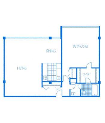 Promenade-1Bedroom-A