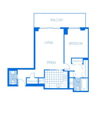 Westhaven-1Bedroom-B